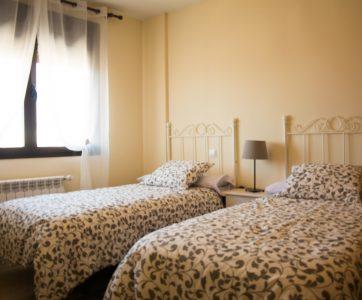 habitación-dos-camas
